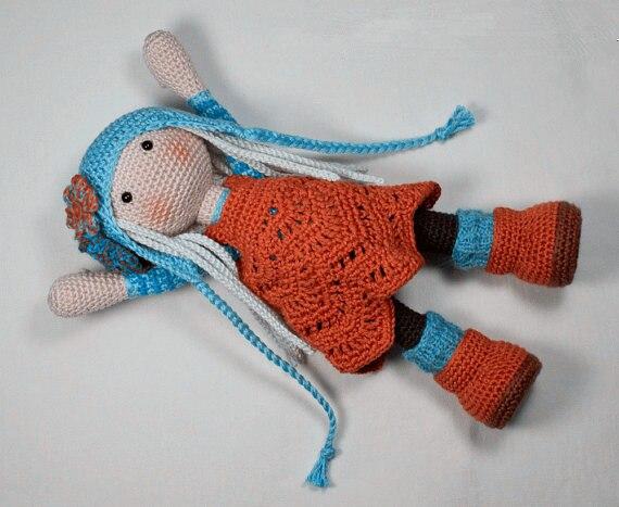 amado de croche para meninas boneca brinquedo chocalho 04