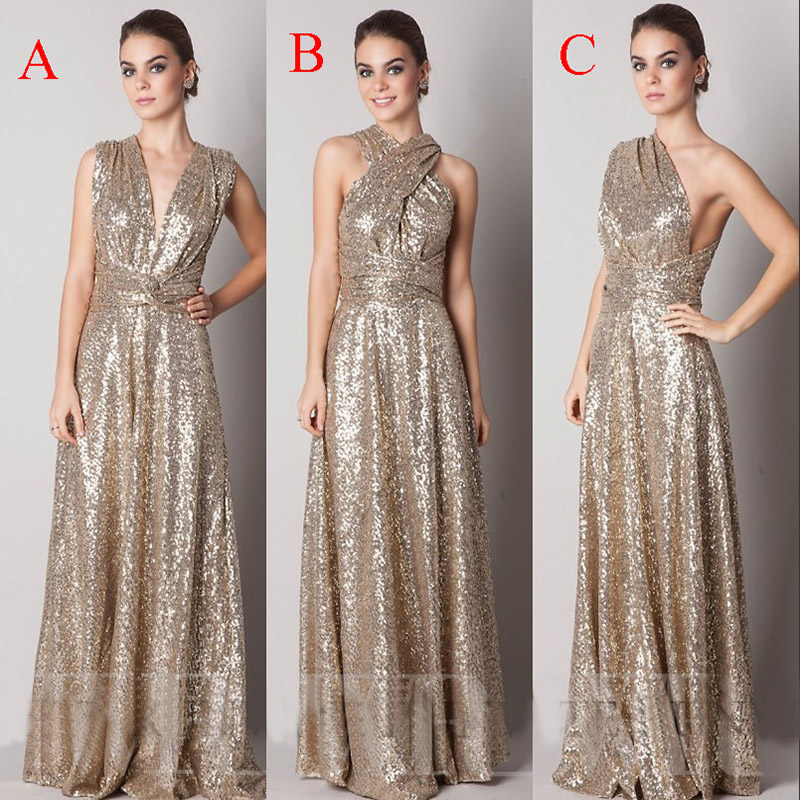 Popular Rose Gold Sequin Dress-Buy Cheap Rose Gold Sequin Dress ...