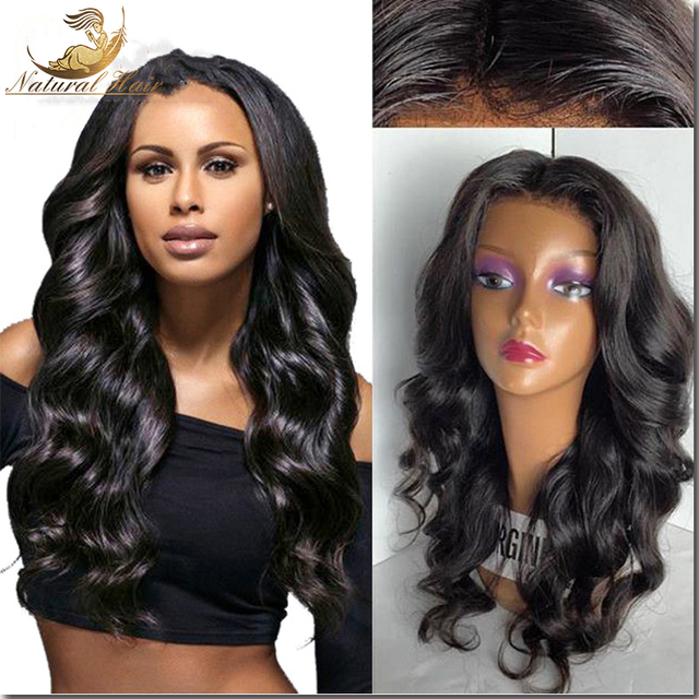 High Density Glueless Full Lace Human Hair Wigs For Black Women 7A Malaysian Loose Wave Lace Front Human Hair Wigs