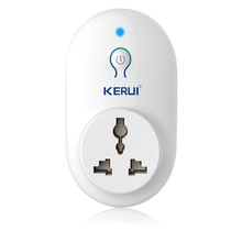 Kerui Wireless EU US UK AU Standard Switch Smart Power Socket 433MHz for Home Security Alarm System Control Smart Power Plug
