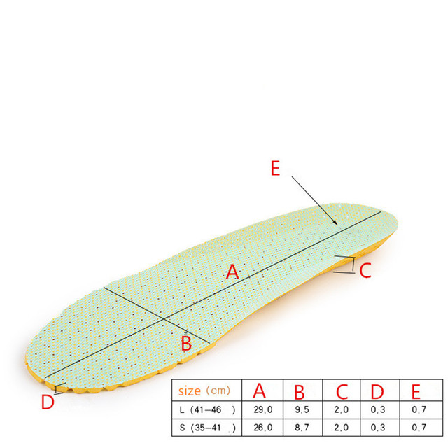 Men and women mesh EVA lightweight insole sports breathable deodorant insole comfortable soft insoles