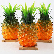 Artificial Simulation Pineapple Fake High Simulation Fruits for Photo Props Decoration Artificial Decorations Artificial Fruits(China)