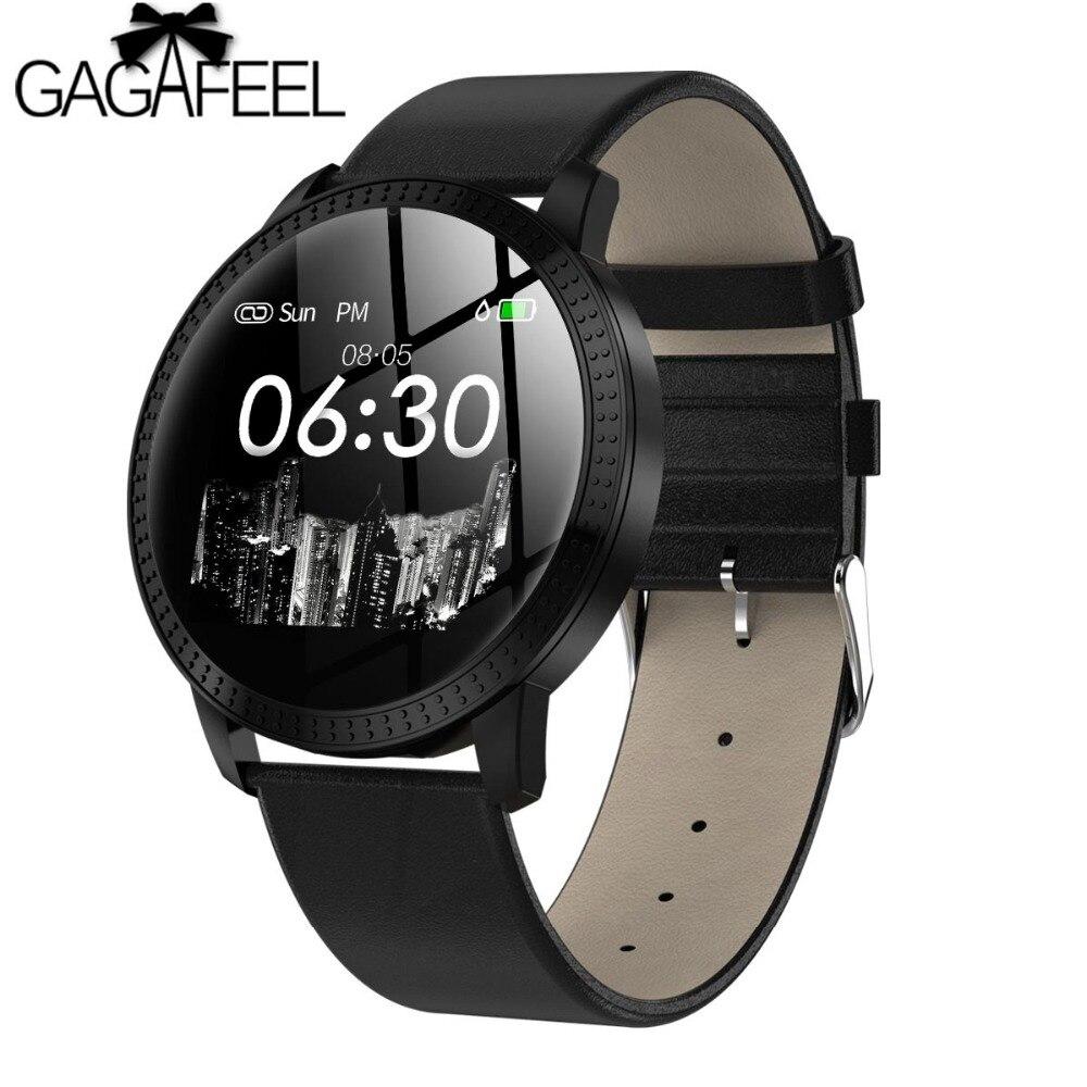Cf18 Smart Armband Luxus Lady Schmuck Uhr Herz Rate Monitor Schlaf Tracker Ip67 Wasserdichte Smart Band Für Frauen Den Menschen In Ihrem TäGlichen Leben Mehr Komfort Bringen Uhren