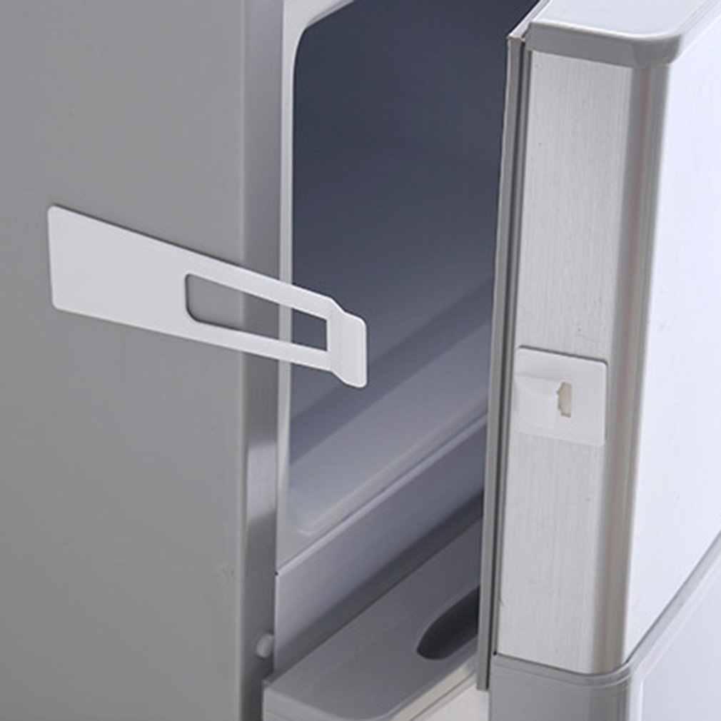 เด็กป้องกันความปลอดภัยล็อคตู้เย็น Guard ตู้ตู้เย็นลิ้นชักประตูบ้านความปลอดภัยในร่ม Latch ติดตั้งง่าย