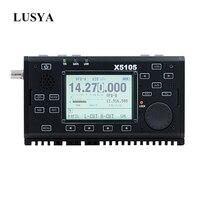Xiegu X5105 0 5 30 MHz 50 54MHz 5W 3800mAh HF TRANSCEIVER mit WENN Ausgang Alle bands Abdeckt SSB CW AM FM RTTY PSK T0265-in Verstärker aus Verbraucherelektronik bei