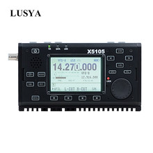 Xiegu X5105 0.5-30MHz 50-54MHz 5W 3800mAh HF TRANSCEIVER with IF Output All Bands Covering SSB CW AM FM RTTY PSK T0265(China)