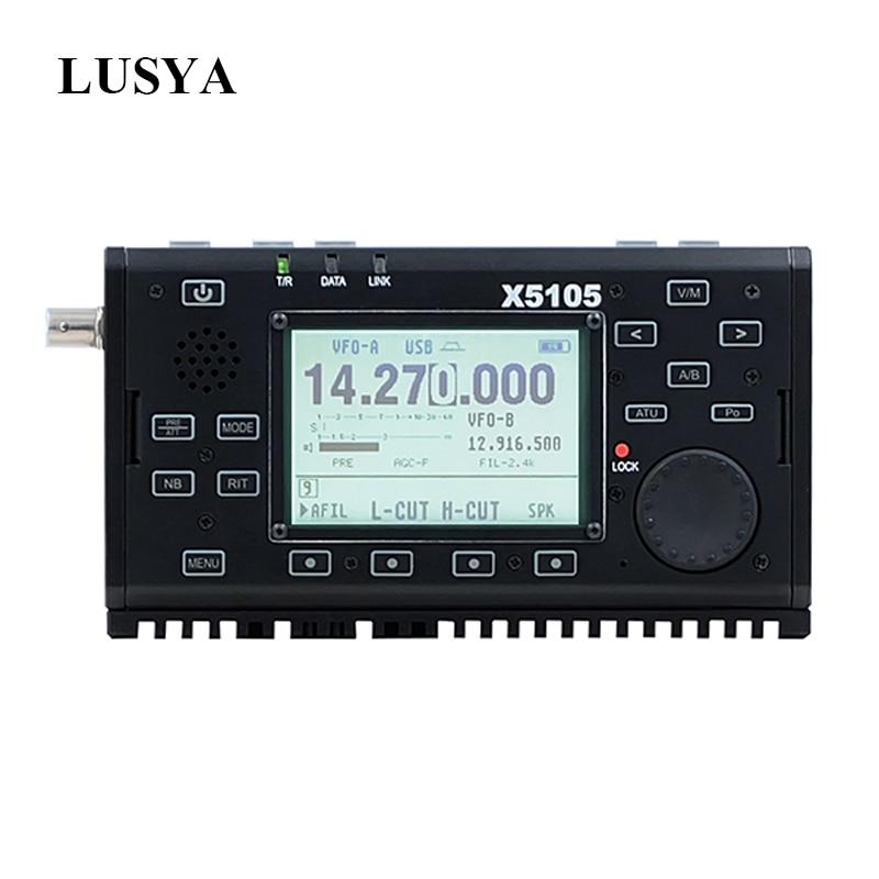Xiegu X5105 0.5-30MHz 50-54MHz 5W 3800mAh TRANSCEIVER HF con SE L'uscita Tutti I bande Che Copre SSB CW AM FM RTTY PSK T0265