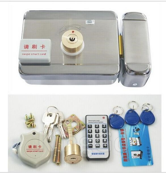 DC12V-Door-and-gate-Access-Control-system-Electronic-integrated-RFID-lock-with-RFID-reader-with-10pcs (2)