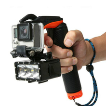 Gopro Accessories Shutter Trigger Floating Grip Handle Stick For Gopro Hero 5 4 3+ Xiaomi Yi Action Camera