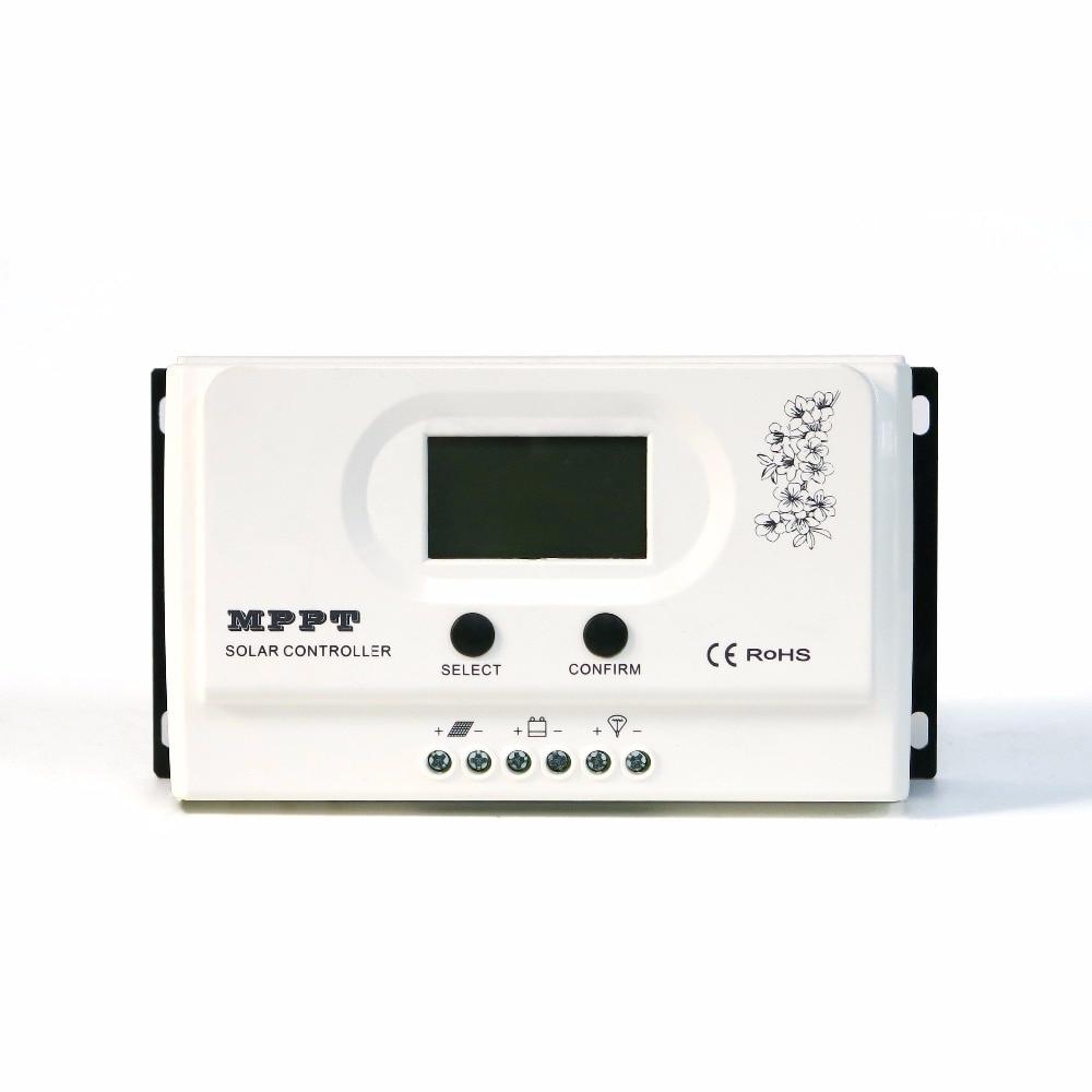 Wiser 30A 40A 50A MPPT solar charge controller 12V/24V auto recognition Max. DC150V PV input mppt solar charge controller 60a 12v 24v 48v automatic recognition 60a mppt solar charge controller