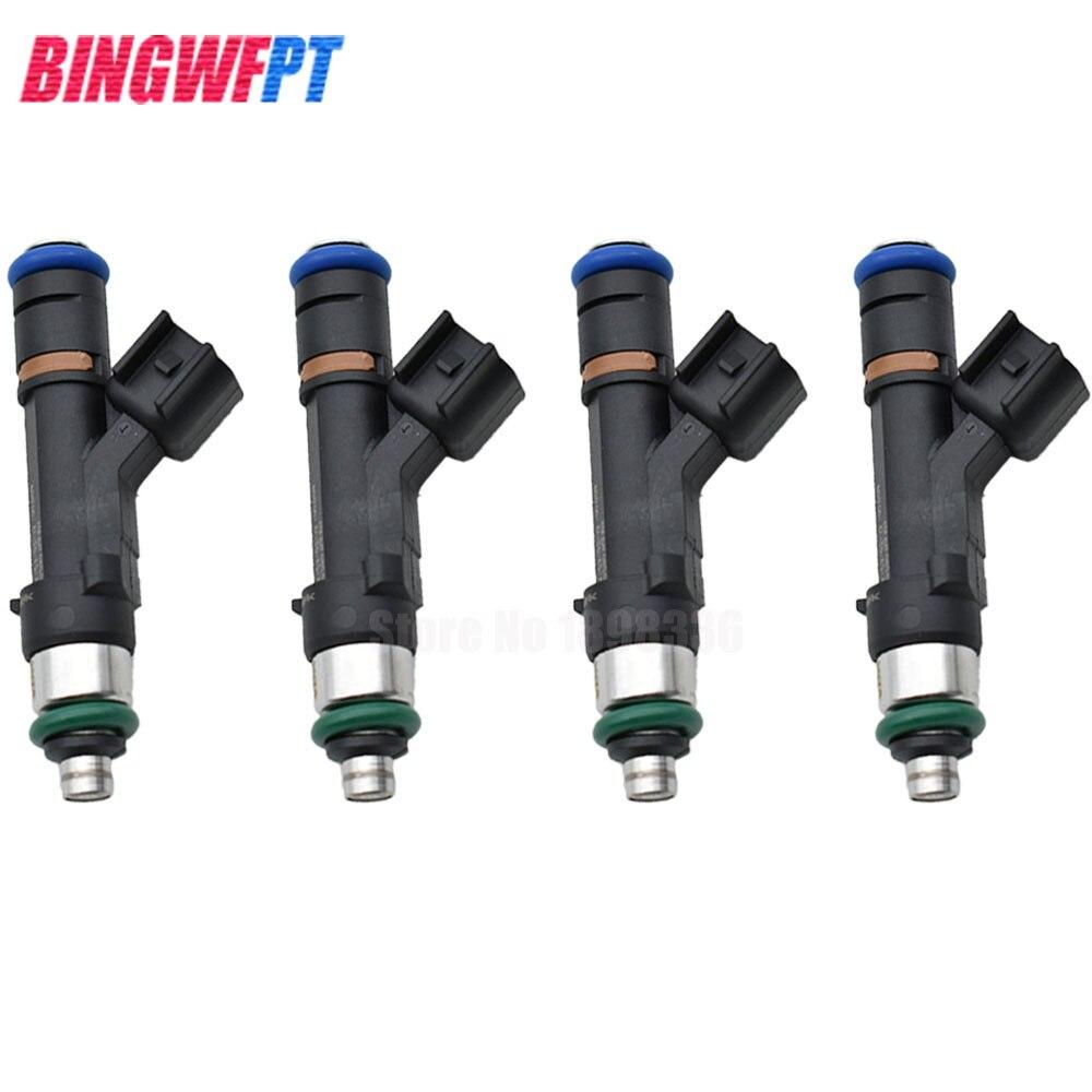 4 шт. Топливные форсунки 0280158105 0 280 158 105 для Mazda M6 2,0 2,3 для Ford Fusion Фокус Побег Mercury топливный инжектор