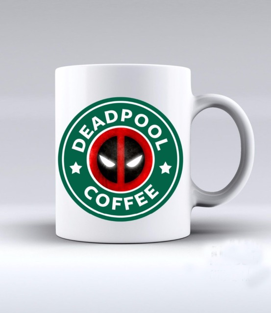 deadpool coffee mugs printed travel novelty birthday gift design tea