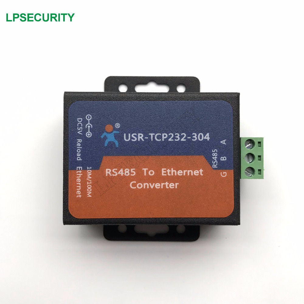 Honest Free Shipping Usr-tcp232-304 Serial Rs485 To Tcp/ip Ethernet Server Converter Module With Built-in Webpage Dhcp/dns Supported Security & Protection