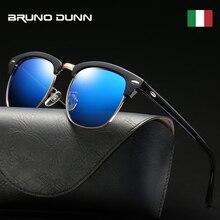 Bruno dunn classic Polarized Sunglasses Men Women Brand Design Ray Zonnebril Man