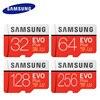 SAMSUNG Micro SD Card 64gb Class10 Microsd 32gb 128gb Memory Card EVO PLUS C10 TF tarjeta micro sd carte 64G U3U1 for Cellphone
