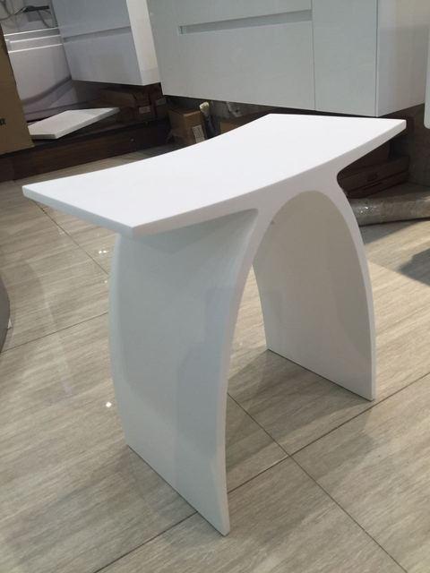 Neue Matte Moderne Gekrummte Bad Sitz Hocker Bad Dampf Dusche Stuhl