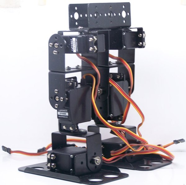 Biped Robot Chassis BRAT 6 Servo Walker Kit Ready To Run