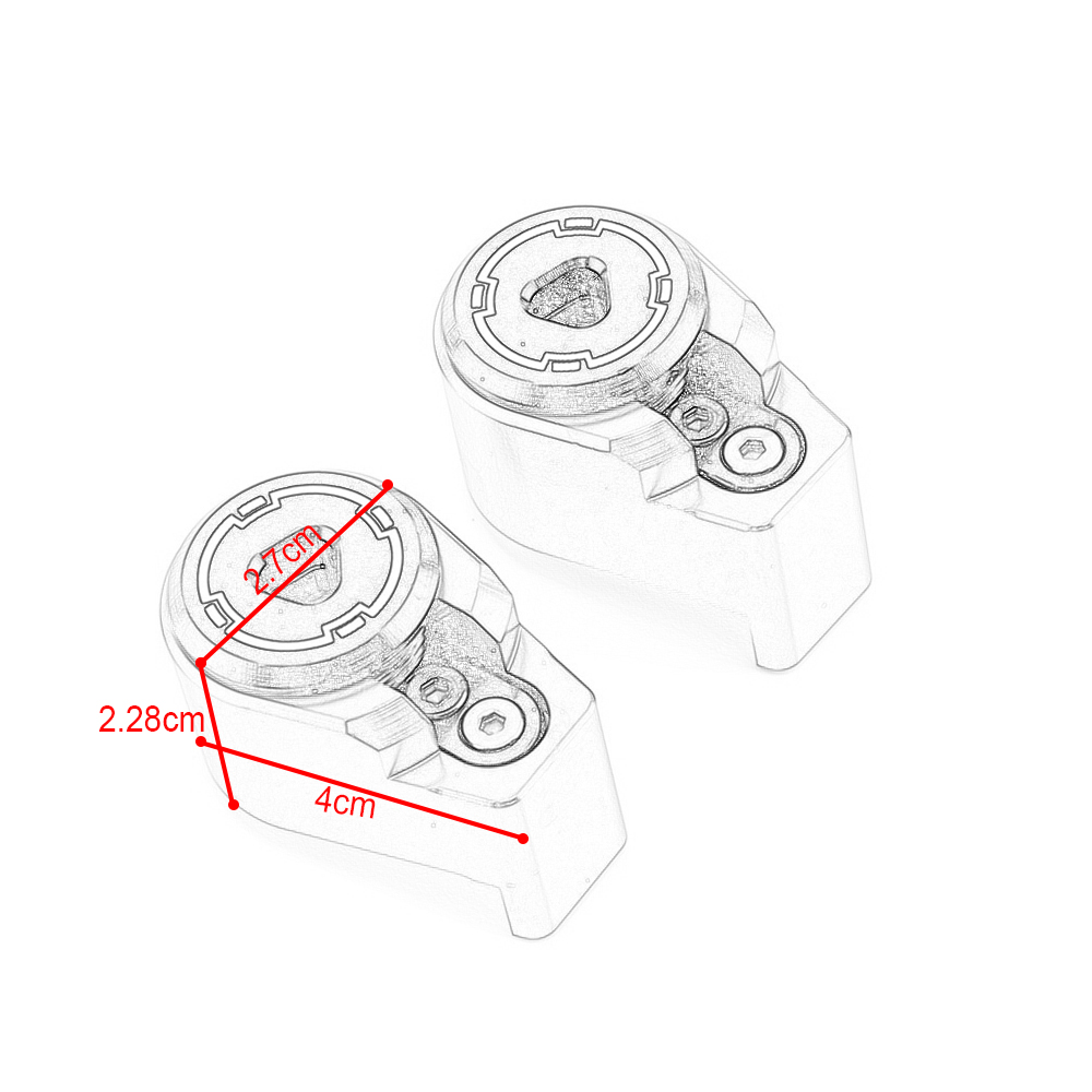 SMOK Motorcycle Shock Absorber Anti theft Lock For Yamaha Xmax 125 250 300 400 Nmax 125 155 Aerox Honda PCX 125 155 Forza 300 in Covers Ornamental Mouldings from Automobiles Motorcycles