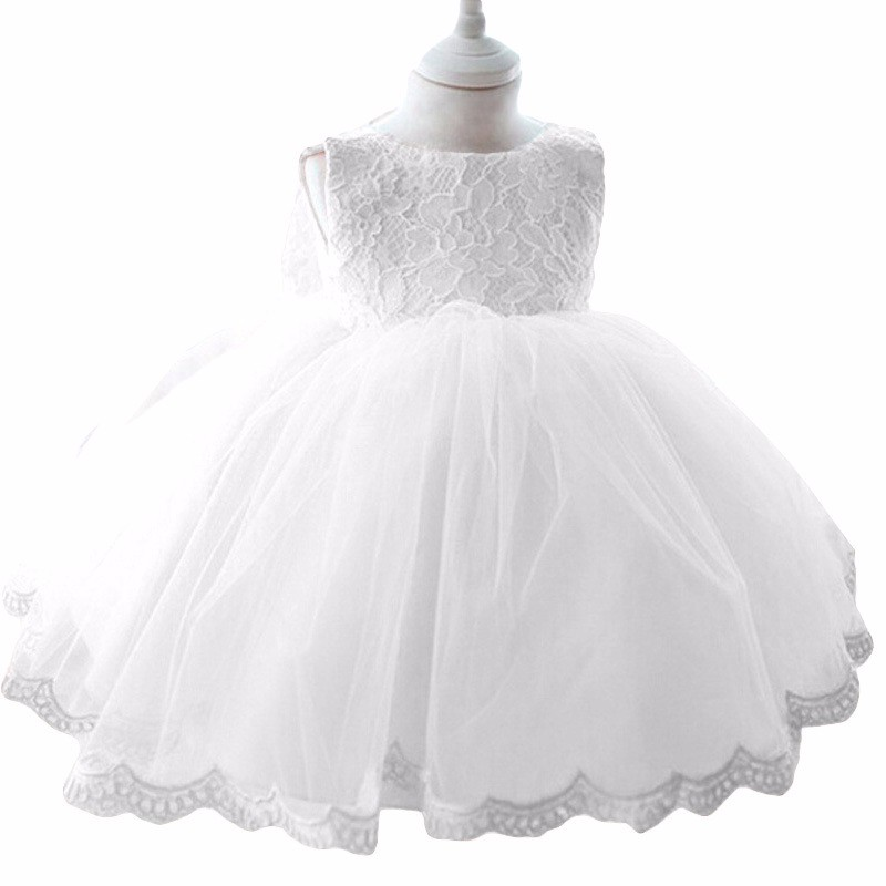 2017 New sweet Princess Girls Party Dresses for party baby fashion Pink Tutu dress Girls Wedding kids Dress 18M 2T 3T 4T 5T 6T baby girls white dresses for wedding and party wear girl princess dress kids lace clothes children costume age 3 4 5 6 7 8 9 10