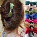 2015 Coreano novos acessórios para o cabelo grampos de cabelo para cabelo fita arco artesanal acessórios para o cabelo garra grampo de cabelo pente inserido