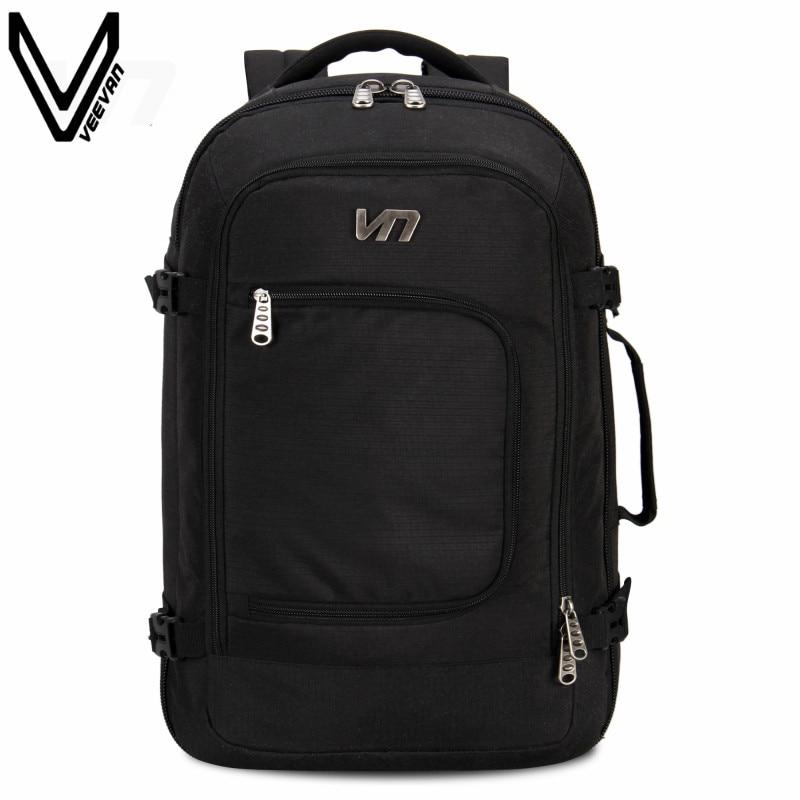 VEEVANV 2016 New Business Notebook Backpack Computer Shoulder Bag Shockproof Laptop Backpack Travel PVC Backpack School Bag