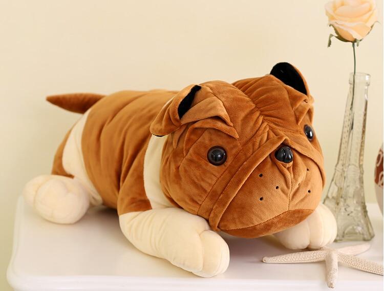 Shar Pei Doll  Papa Dog  Pillow  Plush Kdis Toys  Christmas Gift one piece fu pei 50g