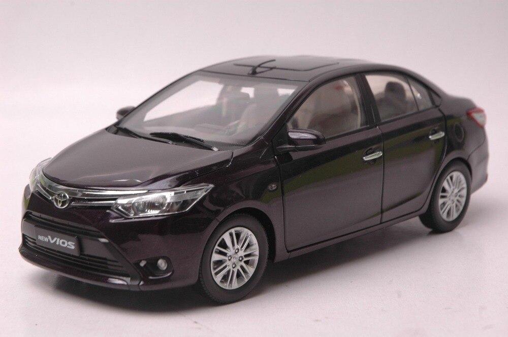 1:18 Diecast Model for Toyota Vios 2013 Purple Alloy Toy Car Collection ланчбокс с подогревом екатеринбург