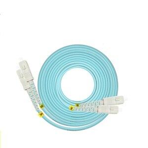 Image 3 - 50m LC SC FC ST UPC OM3 Fiber Optic Patch Cable Duplex Jumper 2 Core Patch Cord Multimode 2.0mm Optical Fiber Patchcord