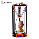 FLSUN Delta 3D Printer DIY KIT Pulley Kossel Auto-leveling Heat bed Filament Printing Size 180*180*315mm Novice Player
