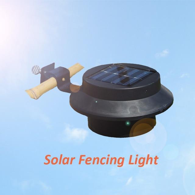 luminaria lampara solar de led para valla en el jardin y patio encendido automatico exterior