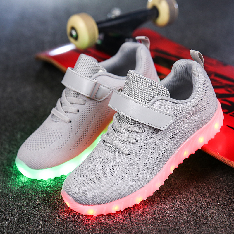 2017 Children USB Charger Led Light Shoes Men & Women Top Luminous Sneakers Casual Lace Up Shoes Unisex Sports for Kids & Adult ladies plus size 34 46 12 colors lace up designer led board shoes light up luminous zapatillas usb charger high top party boots