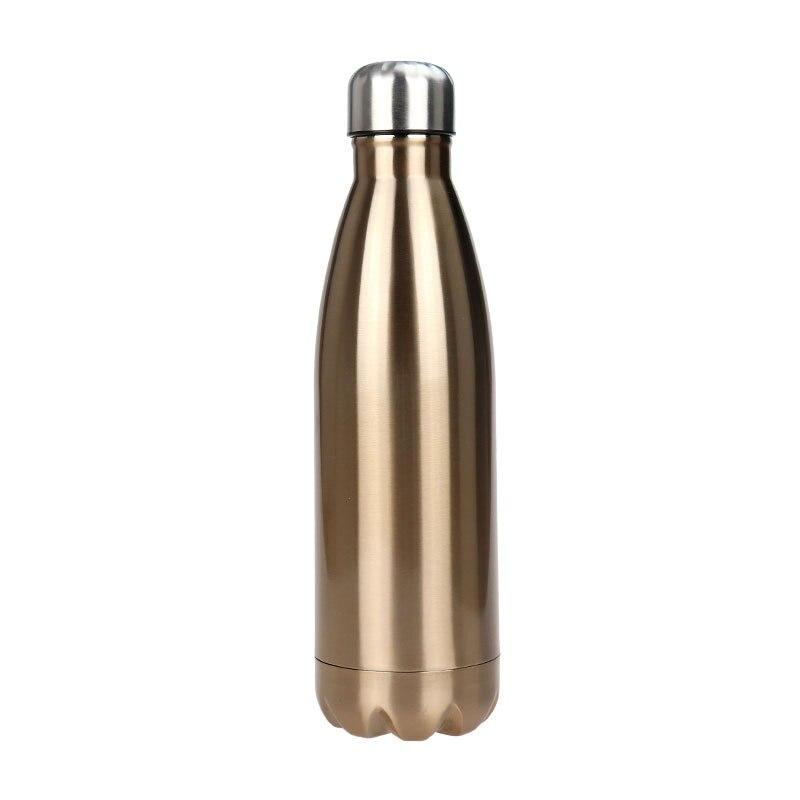 350-1000 ml En Acier Inoxydable Double Paroi Isolée Sous Vide Bouteille D'eau Portable