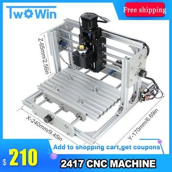 CNC 2417 DIY CNC Engraving Machine 3axis Mini Pcb Pvc Milling Machine Metal Wood Carving Machine Cnc Router GRBL Control 21035 lego