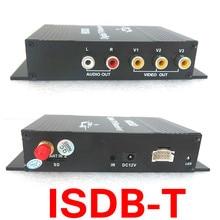 Автомобиль один seg Receiver for USB ISDB-T Бразилия Цифровой ТВ-приемник Android DVB T Цифровой Тюнер автомобилей четыре пути Одна Антенна М-288X(China (Mainland))