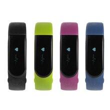 Bluetooth 4.0 Inteligente Reloj de Pulsera Banda de Monitor de Ritmo Cardiaco Sport Fitness Rastreador AC660-663