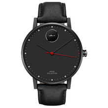 ยี่ห้อinwatchฟิวชั่นหนังดูสมาร์ทสำหรับiPhone AndroidเดิมนาฬิกาบลูทูธแบบพกพาLED PKอัตโนมัตินาฬิกาD5 K18 LEM1
