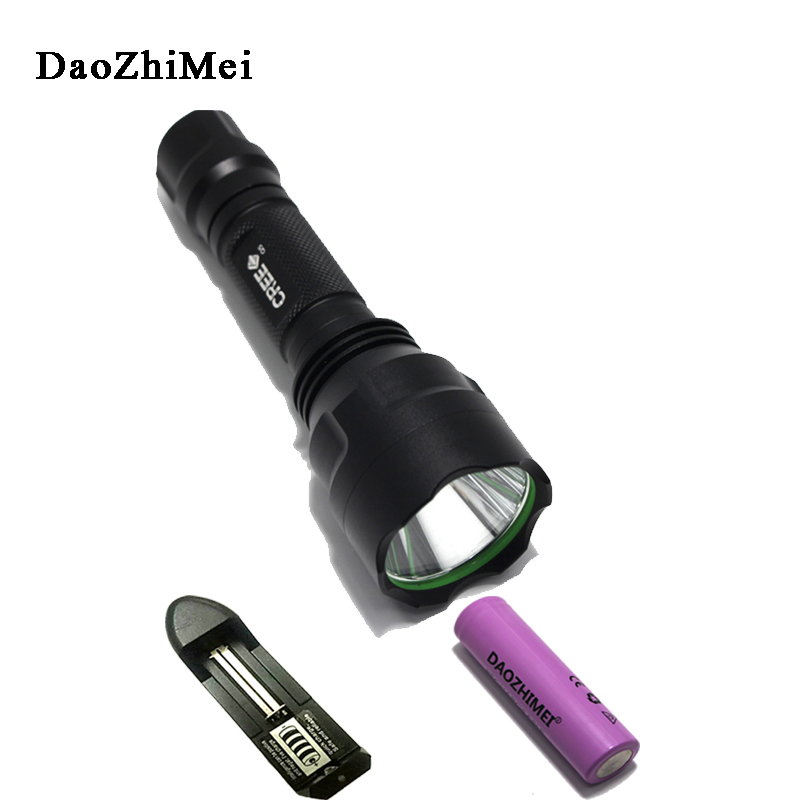 E17 XM-L T6 2000LM Waterproof CREE 18650 rechargeable LED Flashlight Small tactical Torch lanterna Flash Light Hunting Camping xm l t6 mini flashlight 3800lm waterproof led flashlight 5 modes led torch light rechargeable tactical 18650 lanterna