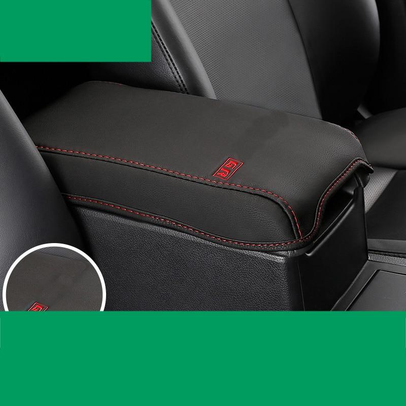 lsrtw2017 fiber leather car armrest cover for toyota camry 2012 2013 2014 2015 2016 2017 xv50 Daihatsu Altis