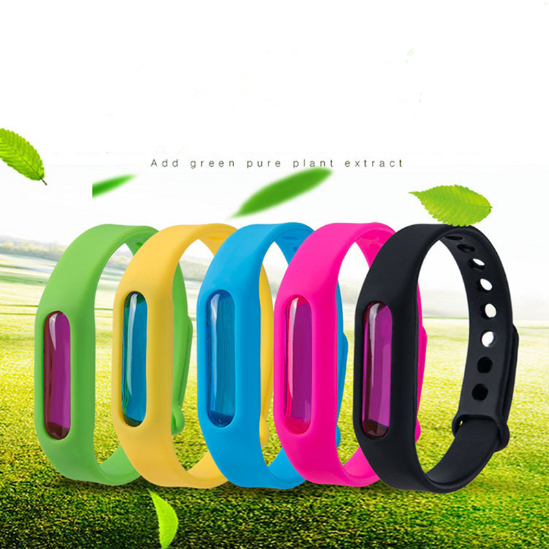Natural Mosquito Repellent Bracelet Summer Anti Mosquito Bites Insect Pest Control Safe Mosquito Killer Wristband For Baby Kids