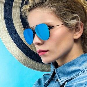 Image 5 - Youpin Turok Steinhardt TS Nylon polarisé inoxydable lunettes de soleil coloré rétro 100% uv preuve homme femme pour maison intelligente