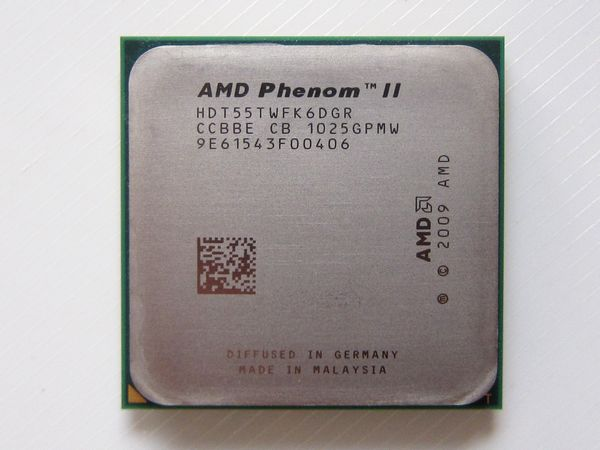 AMD CPU Phenom II X6 1055T 2 8GHz Socket AM3 Six Core HDT55TWFK6DGR 95W