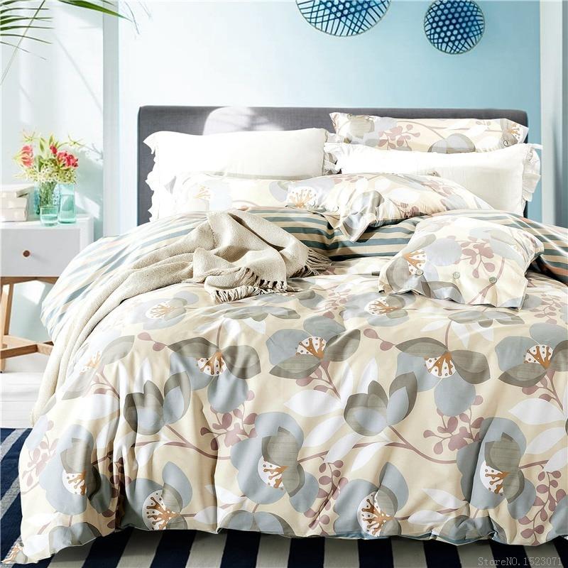 100% Cotton linen boho couvre lit luxury bedding set king size  set bedding