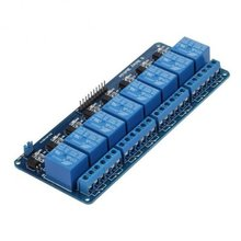Miroad  5V 8 Channel Relay Shield Module for Arduino UNO R3 1280 2560 ARM PIC AVR STM32 Raspberry Pi DSP K30
