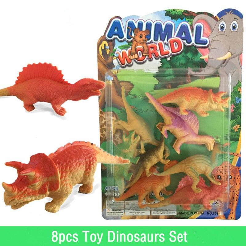 Dinosaur Toys For Boys : Pcs toy dinosaurs model set jurassic world park cm