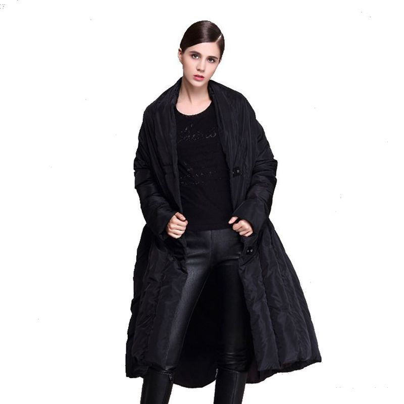 À Type rose Black 889 Chaud Vers Manteau 2018 Manches Doudoune Femmes Nouvelle Le Longue Bas Hiver Veste Longues De nqxwUHxA0R