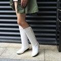 914 бесплатная доставка 2017 новый стиль моды Классические Ботинки Женщин осень Колено Высокие Сапоги Ботинки женщин 4 цвета большой размер США 4-15