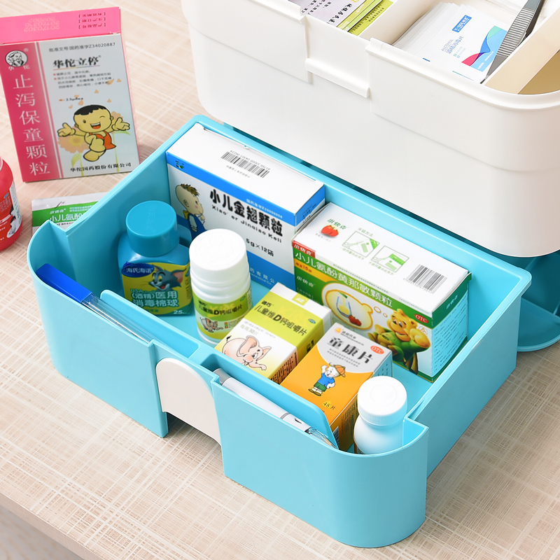 100% Quality Household Baby Medical Healthcare Kit Family First Aid Case Multi Drug Food Box Children Baby Care Plastic Storage Organizer Set Back To Search Resultsmother & Kids Grooming & Healthcare Kits