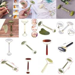 1PCS Natural Facial Face Lift Roller Beauty Massage Tool Jade Roller Face Thin Slimming Anti Wrinkle Health Care Tools