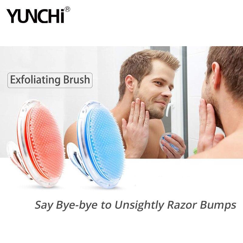 Exfoliating Shower Brush Hair Massage Comb Scalp Massager Ingrown Hair And Razor Bump Treatment Body Scrub Tool For Man & Woman
