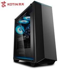 KOTIN R11 i7 9700 K 3,6 GHz 120mm RGB Wasser Kühler Gaming PC Desktop Computer RTX 2070 8 GB video Karte Intel 256 GB SSD 8 GB 16 GB RAM